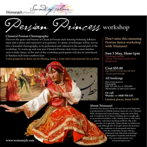 Womanjah Persian workshop